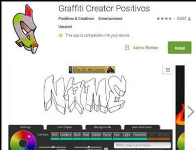 Download Aplikasi Grafifti Creator Positivos