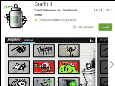 Download Aplikasi Grafifti It