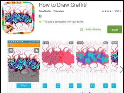Download Aplikasi How To Draw Graffiti
