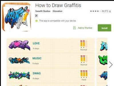 Download Aplikasi How To Draw Graffits