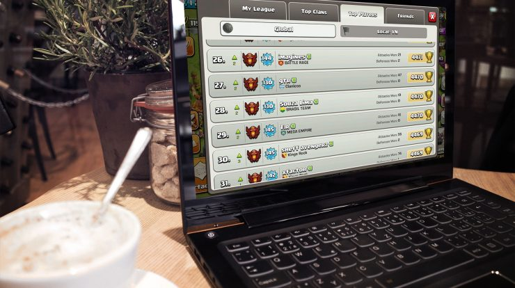Cara Bermain Game Clash of Clans di PC atau Komputer