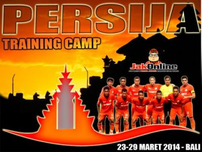 Persija Camp Training