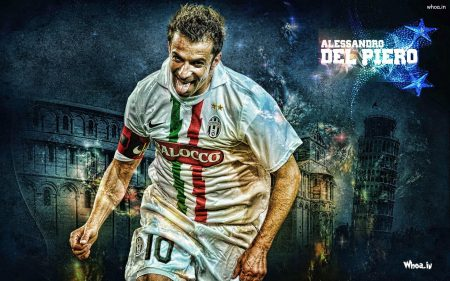 Wallpaper Legenda Alessandro Delpiero