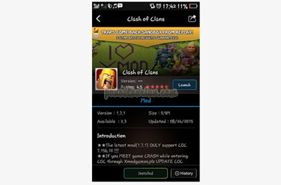 cara cheat coc