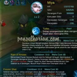 cara cheat serangan fisik mobile legends 1 hit 1 kil