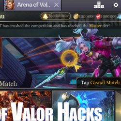 cara cheat game arena of valor