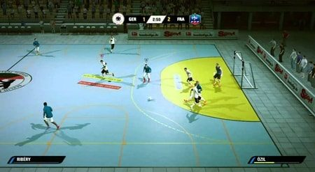 Game Futsal di Hp Android