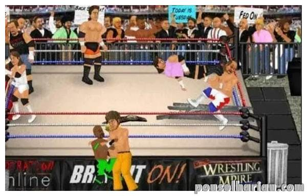 Game smackdown Wrestling revolution