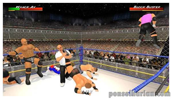game smackdown Wrestling Revolution 3D