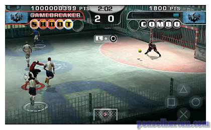 Cara Cheat Game Fifa Street 2 PPSSPP di Hp Android 1