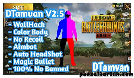 cheat PUBG mobile Wall Hack & No Recoil