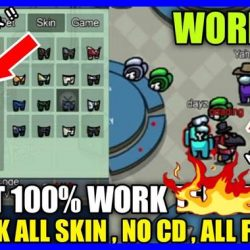 cheat among us work unlock all skin